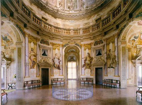 Villa Rotonda Interior by Signorina By Andrea Palladio With Modifications By