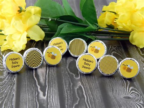 Bumble Bee Baby Shower Favors by 18 Ideas For Baby Shower Labels Notes