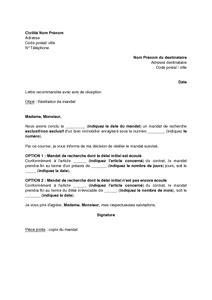 Lettre De Résiliation Mandat Immobilier Modele Lettre Resiliation Mandat Exclusif