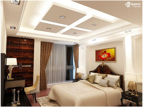 Bedroom Ceiling Designs Pop Gyproc Falseceiling Can Completely Change Your Bedroom Give It A Refined And Artistic Look