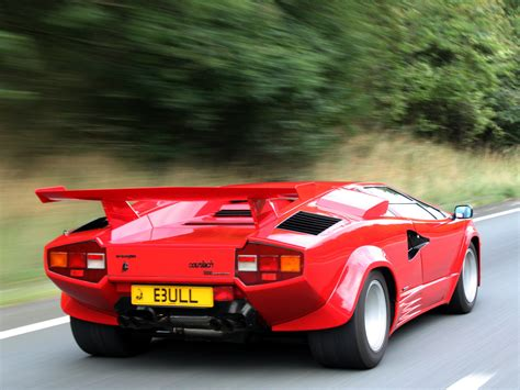 classic lamborghini countach classic car battle lamborghini countach lp5000 vs the