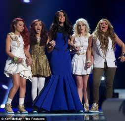 lil mix and tulisa mp x factor 2011 embarrassment for tulisa as n dubz s dappy
