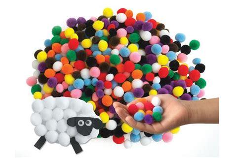 Pompom Mini Metalik Pom Pom colorations 174 mini pom poms 500 pieces