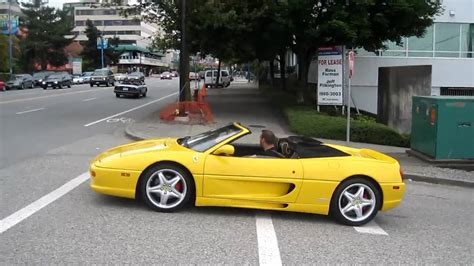 f355 acceleration f355 in yellow acceleration hd