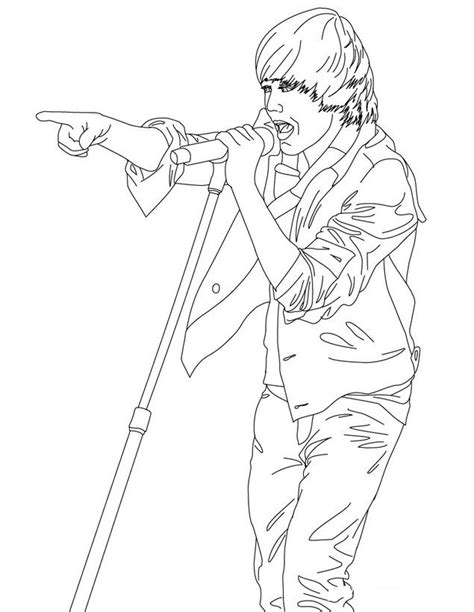 coloring pages to print of justin bieber justin bieber coloring pages 2 coloring pages to print