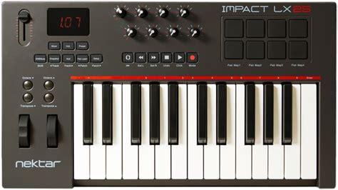Nektar Impact Lx25 Gigbag Morris Series nektar impact lx25 25 key midi controller keyboard sweetwater