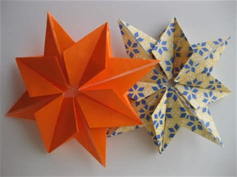Origami Eight Pointed - origami 8 pointed origami
