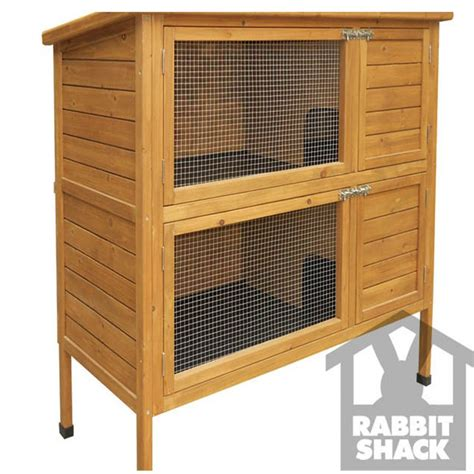 Buy Rabbit Hutch buy rabbit shack flat pack rabbit hutch with extended run 1525mm