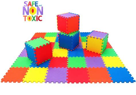 Non Toxic Mats by Non Toxic Thick 36 Children Play Exercise Mat