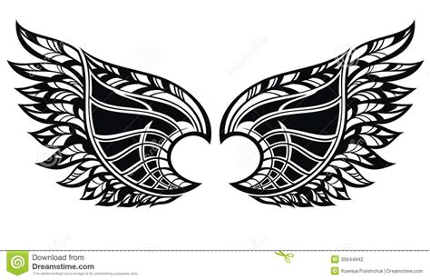 tattoo tribal wings designs eagle wings tribal tattoo www pixshark com images