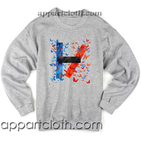 Sweater Twenty One Pilots Logo Redmerch twenty one pilots logo sweatshirt