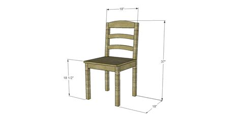 plans  build  dining chair