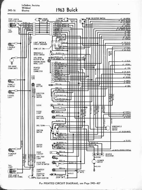 Buick Wiring Diagrams: 1957-1965