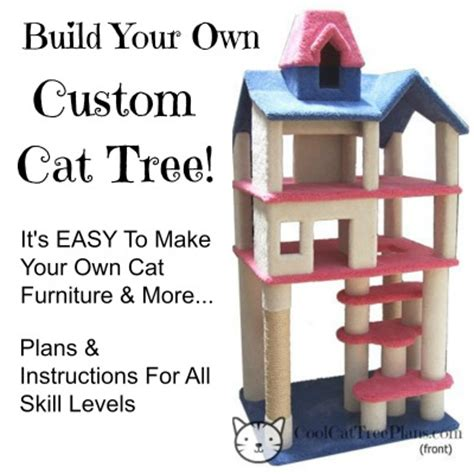 Easy Bookcase Plans Cool Cat Tree Plans