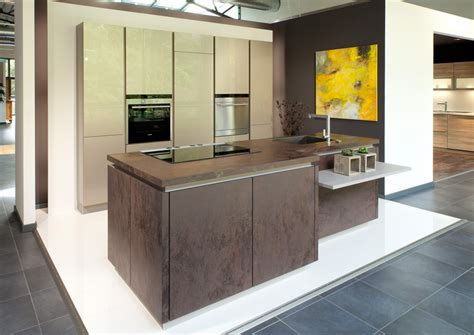 Stainless Steel Kitchen Island beautiful kitchens in brookmans park