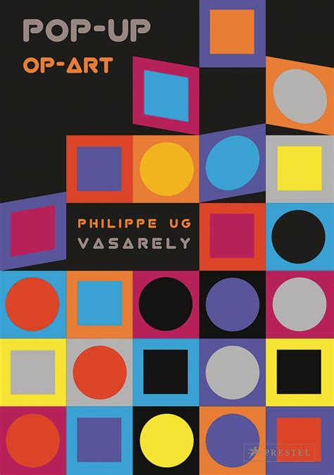 libro vasarely pop up op art by vasarely de prestel publishing red representaciones editoriales