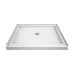 42 X 32 Shower Pan by Dreamline Slimline 42 In X 32 In Single Threshold Shower