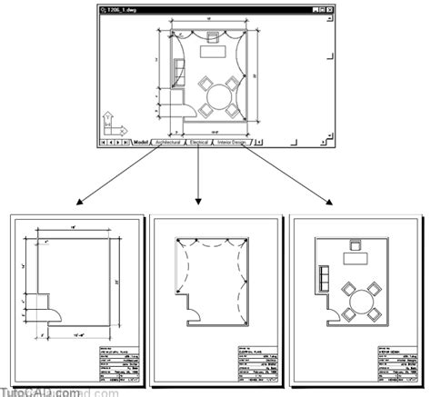 autocad tutorial working with layouts overview working effectively with layouts autocad