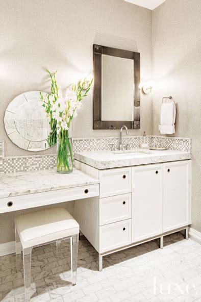 table bathroom vanity vanity table in the ensuite lucite stool bathrooms