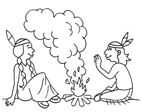 imagenes para dibujar de indigenas cowboy en indianen kleurplaten indiaan kvuur