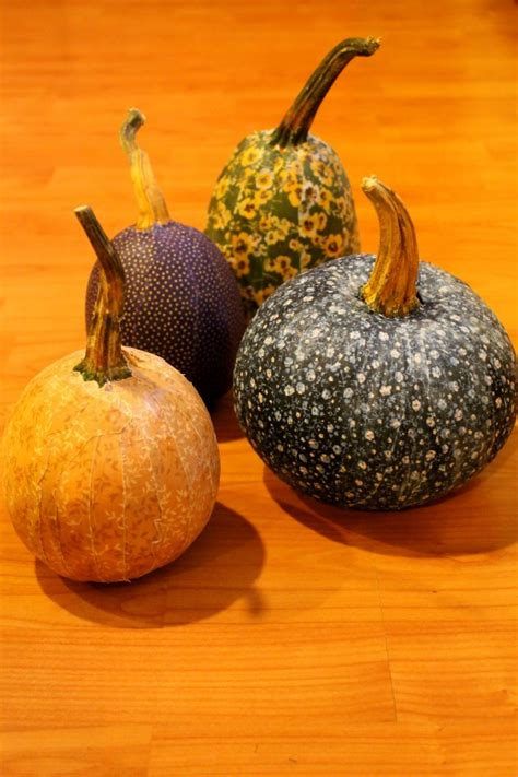 Decoupage Pumpkin - diy decoupage pumpkin centerpieces rustic wedding chic