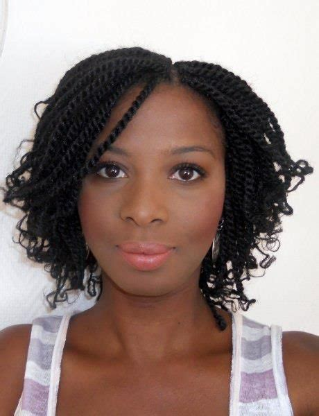 two twisted marley hair style kinky twists natural hair hairspiration pinterest