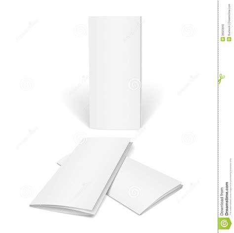 Blank Vector Brochure Template Stock Vector   Image: 39323840
