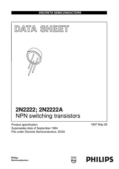 data transistor tip41 2n2222 2n222a transistor data sheet