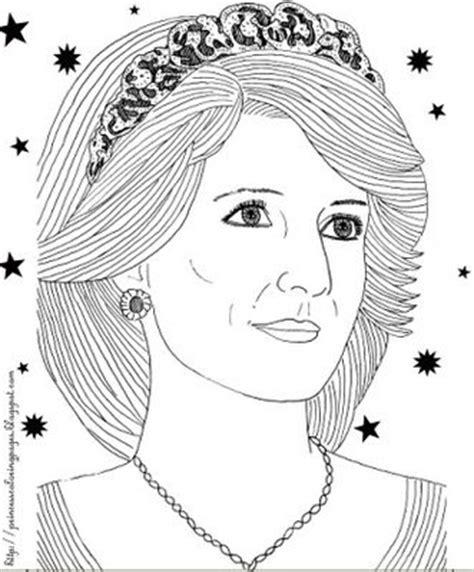 coloring page of princess diana transmissionpress princess diana coloring pages
