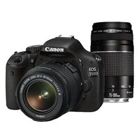 Canon 550d Kit 18 55mm Efek canon eos 550d digital slr lens kit 18 55mm f3 5 5 6 iii 75 300mm f 4 5 6 iii