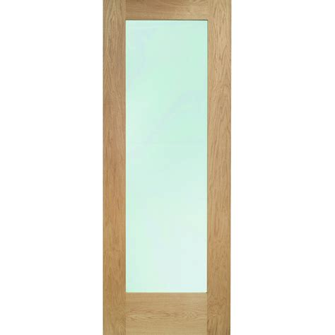 Glazed Exterior Doors Xl Joinery External Oak Veneer Pattern 10 Clear Glazed Door