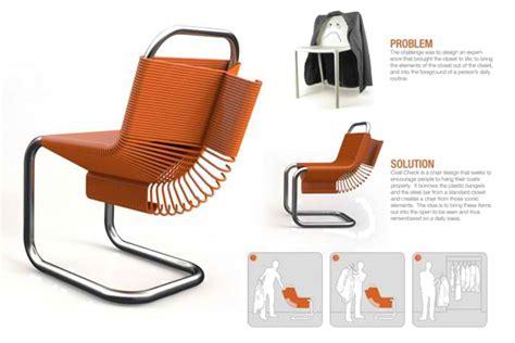 Dual Purpose Designs by Dual Purpose Coat Check Chair 171 Inhabitat Green Design