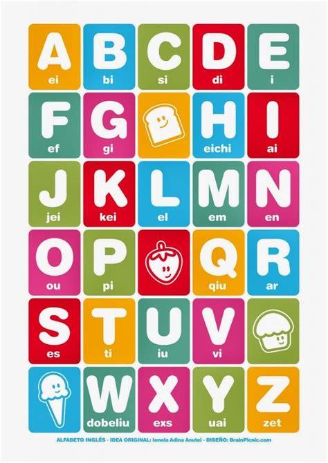 Imagenes Del Alfabeto Ingles | el abecedario en ingles con sus im 225 genes para imprimir