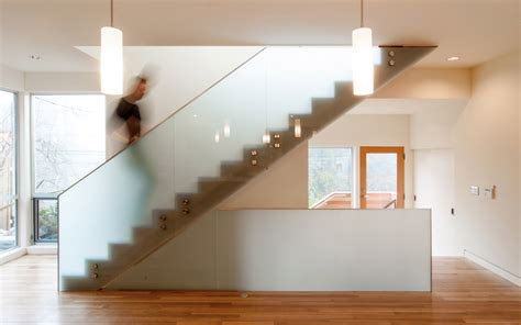 Contemporary Home Floor Plans Explorations In Stair Design Build Blog