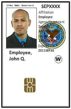 fema business card template va it personal identity verification piv