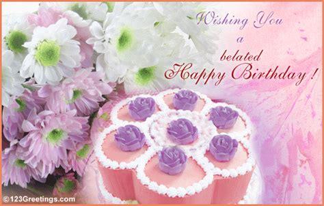 Happy Belated Birthday Wishes Quotes Happy Belated Birthday Wishes Quotes Quotesgram