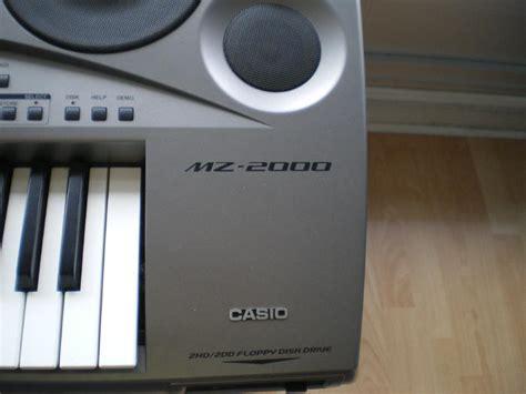 Keyboard Casio Mz 2000 casio mz 2000 image 554608 audiofanzine