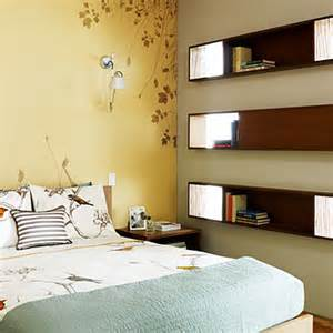 Bookshelves For Small Bedrooms Built In Bookshelves 20 Small Bedroom Design Tips Sunset