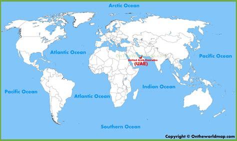 world map abu dhabi abu dhabi world map major tourist attractions