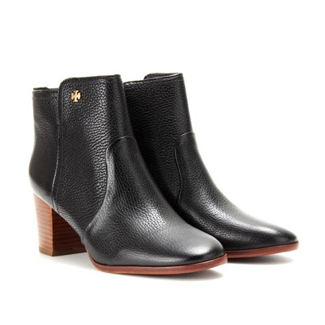 burch boots burch sabe leather ankle boots in black lyst