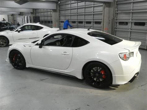 trd toyota gt 86 upgrade package revealed performancedrive