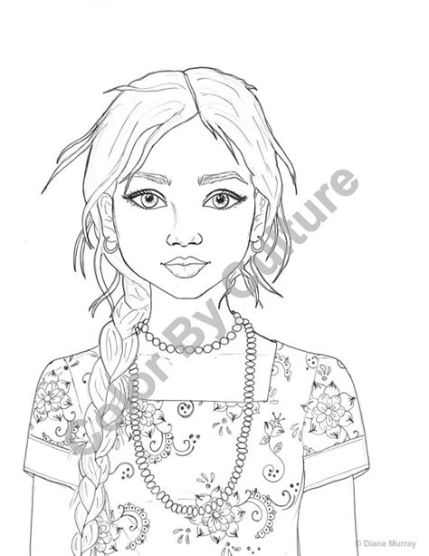 coloring page indian girl fashion coloring page india coloring page indian girl