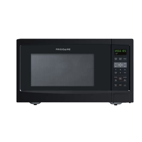 shop frigidaire 1 6 cu ft 1 100 watt countertop microwave