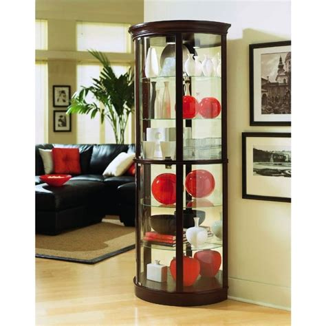 lighted corner curio cabinet exquisite corner curio cupboard ikearoute homefurniture org