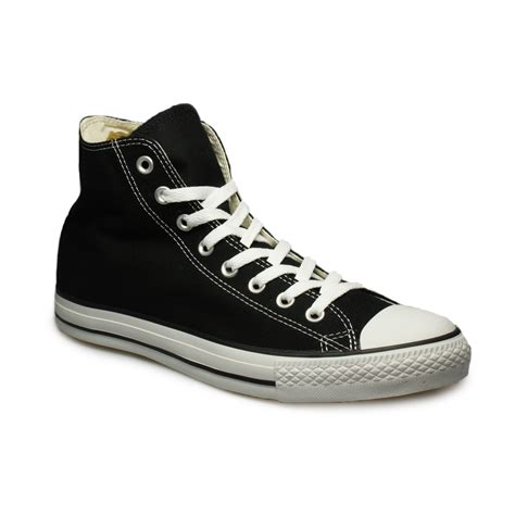 black mens sneakers converse all hi black white trainers sneakers shoes