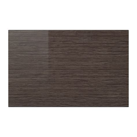 Drawer Doors by Selsviken Door Drawer Front Patterned High Gloss Brown