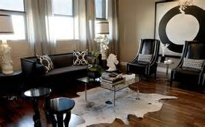 Black And White Chairs Living Room Design Ideas Color Design Ideas With Black Furniture