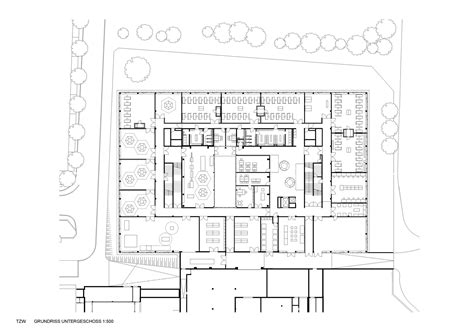 technical floor plan center for technology and design in st p 246 lten