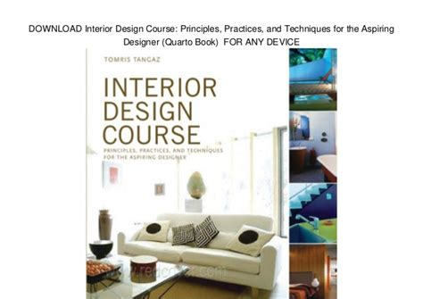 pdf download interior design course principles download interior design course principles practices