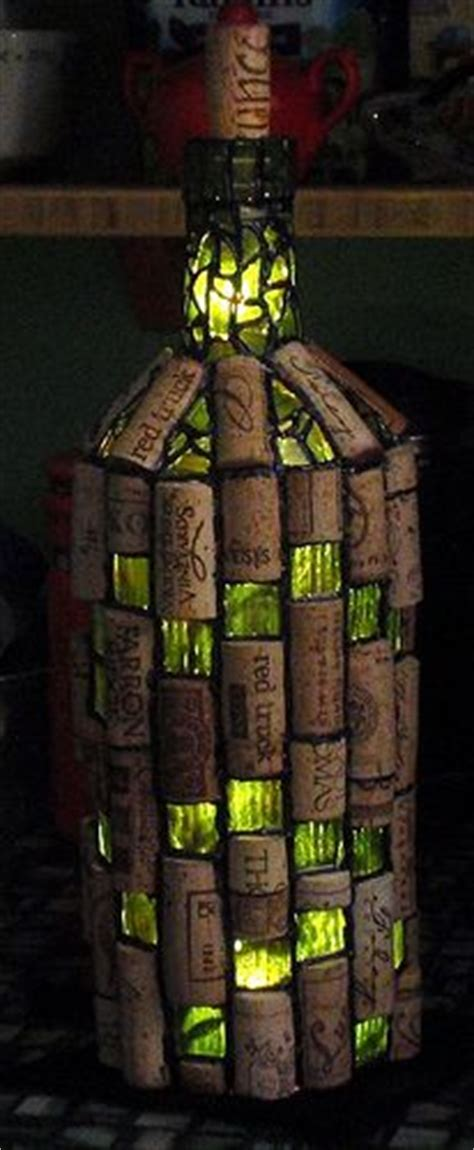 lighted corks for wine bottles 101 best images about mosaics on recycled bottles on